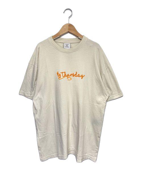 VETEMENTS(ヴェトモン)VETEMENTS (ヴェトモン) Tuesday Tシャツ アイボリー サイズ:XSの古着・服飾アイテム