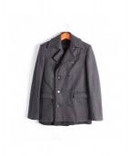 KRIS VAN ASSCHE(クリスヴァンアッシュ)の古着「コート」|グレー