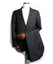 MARGARET HOWELL(マーガレットハウエル)の古着「セットアップスーツ」|ネイビー