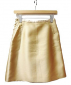Chloe(クロエ)の古着「スカート」 ゴールド