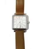 MARC JACOBS(マークジェイコブス)の古着「VIC/アナログ腕時計」|ブラウン
