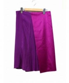 3.1 phillip lim(3.1 フィリップリム)の古着「スカート」|ピンク×パープル