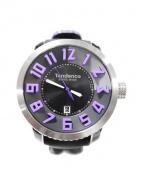 tendence(テンデンス)の古着「SPORT SWISS MADE STEEL/腕時計」 ブラック