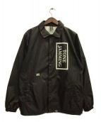 FPAR(フォーティーパーセンツ アゲインストライツ)の古着「コーチジャケット」 ブラック