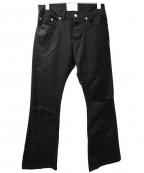SUB-AGE.(サベージ)の古着「BOOT-CUT DENIM」|ブラック