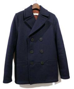 BALENCIAGA(バレンシアガ)の古着「16AW/Pコート」|ネイビー