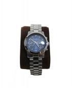 MICHAEL KORS(マイケルコース)の古着「腕時計」|ダークブルー×シルバー