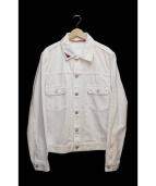 Ron Herman(ロンハーマン)の古着「EDIT DENIM/デニムジャケット」 ホワイト