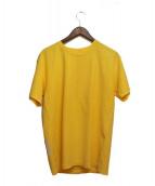 mintcrew(ミントクルー)の古着「インサイドアウトTシャツ」|イエロー