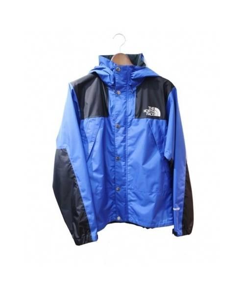 THE NORTH FACE(ノースフェイス)THE NORTH FACE (ノースフェイス) マウンテンレインテックスジャケット ブルー サイズ:Sの古着・服飾アイテム