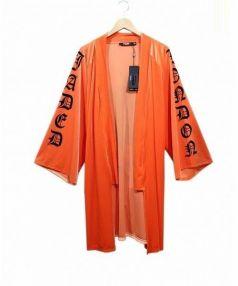 Jaded London(ジェイディッド ロンドン)の古着「ガウンカーディガン」|オレンジ