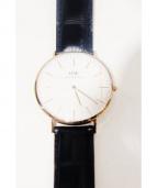 Daniel Wellington(ダニエルウェリントン)の古着「CLASSIC READING/腕時計」|ホワイト
