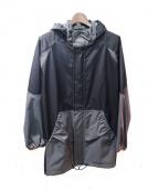Julien David(ジュリアンデイヴィッド)の古着「ナイロンジャケット」|ブラック×グレー