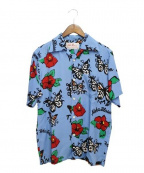 Aloha Blossom(アロハブロッサム)の古着「17SS/アロハシャツ」 ブルー