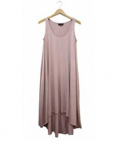 EMPORIO ARMANI(エンポリオアルマーニ)の古着「ノースリーブワンピース」 ピンク