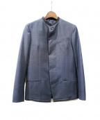 ato(アトウ)の古着「テーラードジャケット」 ネイビー
