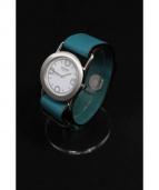 HERMES(エルメス)の古着「バレニアロンド/腕時計」|ホワイト(文字盤)