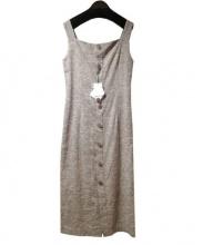 CEPIE(セピエ)の古着「ロング丈ワンピース」|ベージュ