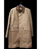 MACKINTOSH(マッキントッシュ)の古着「ステンカラーコート/ゴム引きコート」|ブラウン
