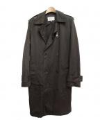 PEEL&LIFT(ピールアンドリフト)の古着「トレンチコート」 ブラック