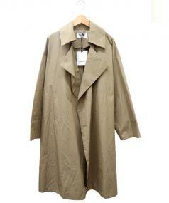 BLACK by moussy(ブラック バイ マウジー)の古着「オーバーコート」 ベージュ
