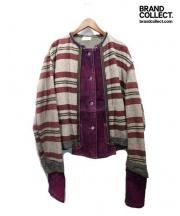 Adammer(アダムメール)の古着「17SS/リメイクジャケット」|グレー