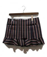 TOGA PULLA(トーガ プルラ)の古着「ミニスカート」|ネイビー