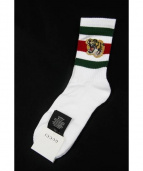 GUCCI(グッチ)の古着「17AW/タイガー刺繍ソックス」|ホワイト
