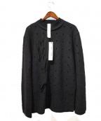 DAMIR DOMA(ダミールドマ)の古着「パンチングカットソー」|ブラック
