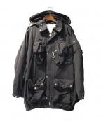 Black Weirdos(ブラック ウィドゥ)の古着「17AW/マウンテンジャケット」|ブラック