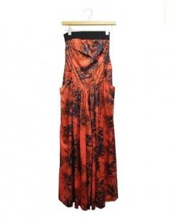 mika ninagawa(ミカ ニナガワ)の古着「オールインワン/サロペット」|レッド