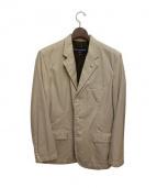 COMME des GARCONS HOMME(コムデギャルソンオム)の古着「3Bテーラードジャケット」|ベージュ