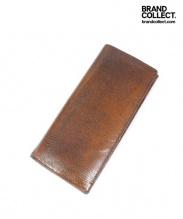 DRIES VAN NOTEN(ドリスヴァンノッテン)の古着「長財布/ロングウォレット」|ブラウン