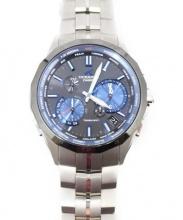 CASIO(カシオ)の古着「オシアナス マンタ/ソーラー腕時計」|ブラック