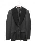 KRIS VAN ASSCHE(クリスヴァンアッシュ)の古着「テーラードジャケット」|グレー