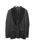 KRIS VAN ASSCHE(クリス ヴァン アッシュ)の古着「テーラードジャケット」 グレー