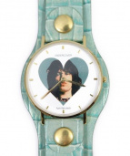 UNDERCOVER(アンダーカバー)の古着「Fuck The Clock/腕時計」|グリーン