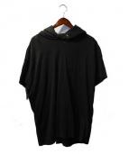 MR.COMPLETELY(ミスターコンプリートリー)の古着「半袖パーカー」|ブラック