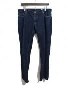 MONCLER GRENOBLE(モンクレール グルノーブル)の古着「デニムパンツ」|ブルー
