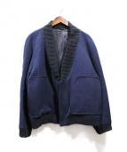 UMIT BENAN(ウミット ベナン)の古着「ショールカラージャケット」|ネイビー
