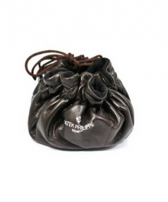 PATEK PHILIPPE(パテックフィリップ)の古着「時計ケース/巾着レザーバッグ」|ブラウン