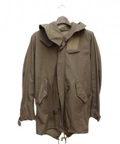 UNCONDITIONAL(アンコンディショナル)の古着「ミリタリージャケット」|ブラウン