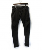 MR.COMPLETELY(ミスターコンプリートリー)の古着「サイドジップパンツ」|ブラック