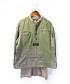 ISAMU KATAYAMA BACKLASH(イサムカタヤマ・バックラッシュ)の古着「リメイクジャケット」|カーキ