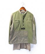ISAMU KATAYAMA BACKLASH(イサムカタヤマ・バックラッシュ)の古着「リメイクジャケット」 カーキ