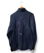 PALACE×adidas(パレス×アディダス)の古着「パイルトラックジャケット」 ネイビー