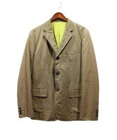 COMME des GARCONS HOMME(コムデギャルソン オム)の古着「テーラードジャケット」|ベージュ