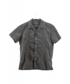 THEE HYSTERIC XXX(ジィヒステリックトリプルエックス)の古着「キューバシャツ」|ブラック