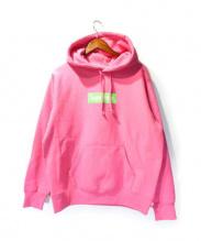SUPREME(シュプリーム)の古着「Box Logo Hooded Sweatshirt」|ピンク