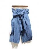 3.1 phillip lim(フィリップリム)の古着「デニムハーフパンツ」|インディゴ